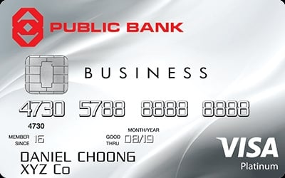 Public Bank Visa Business credit card