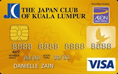 AEON The Japan Club of Kuala Lumpur Visa - Exclusively Japanese
