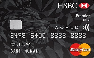 HSBC Premier Travel Credit Card