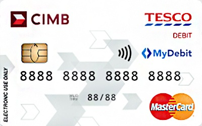 CIMB Tesco Debit MasterCard credit card