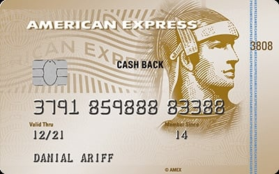 Maybank American Express Cash Back Gold credit card
