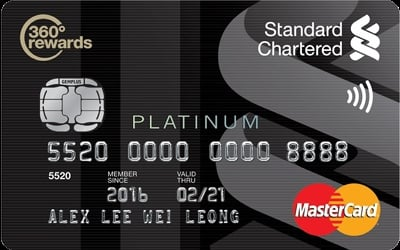 Standard Chartered Platinum MasterCard Basic