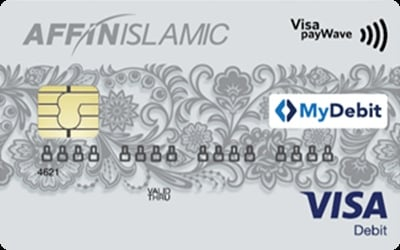 AFFIN Islamic Visa Debit Card credit card