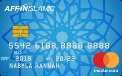 AFFIN Islamic Mastercard Classic credit card