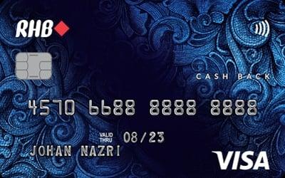 RHB Cash Back Visa Credit Card