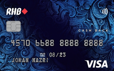 RHB Cash Back Visa Credit Card