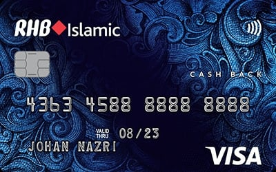 RHB Islamic Cash Back Credit Card-i credit card