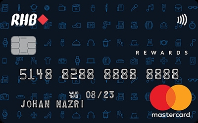 RHB Rewards MasterCard Credit Card