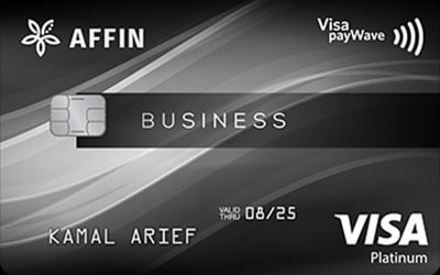 Affinbank Visa Business Platinum