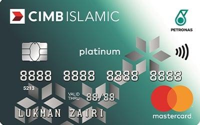 CIMB Petronas Platinum-i Credit Card - Up to 7% petrol cash