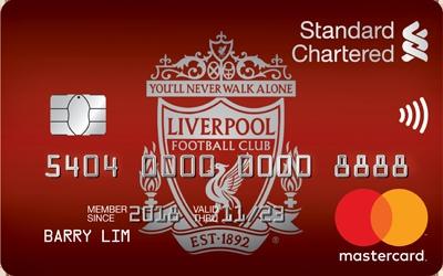 Standard Chartered Liverpool Fc Cashback Up To 5 Cashback