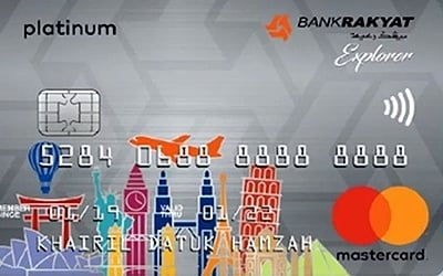 Bank Rakyat Platinum Explorer Credit Card-i