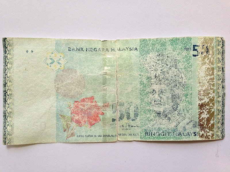 What Can You Do With Damaged Ringgit Malaysia Banknotes?