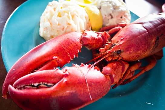 lobster dinner is GST free
