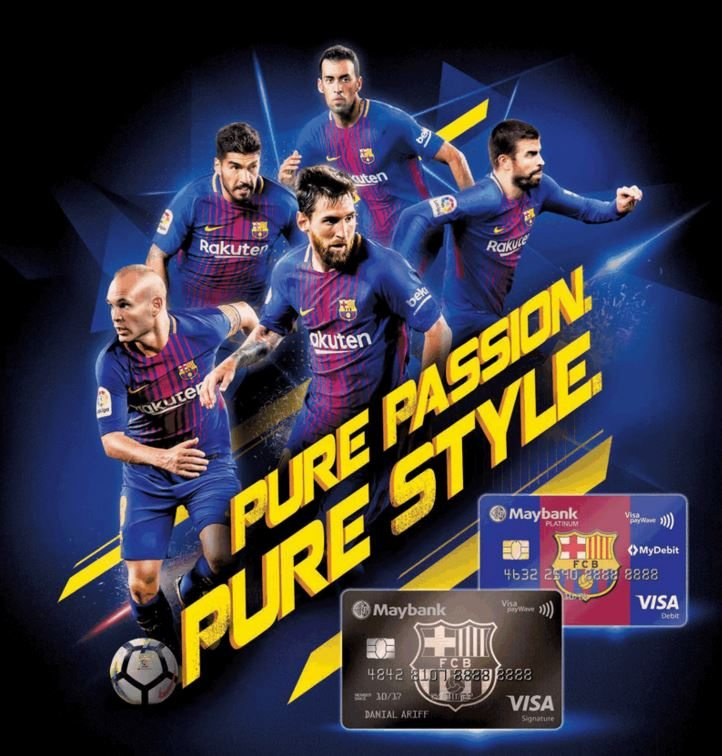 Maybank FC Barcelona Visa Signature Review: Cashback King For May & August