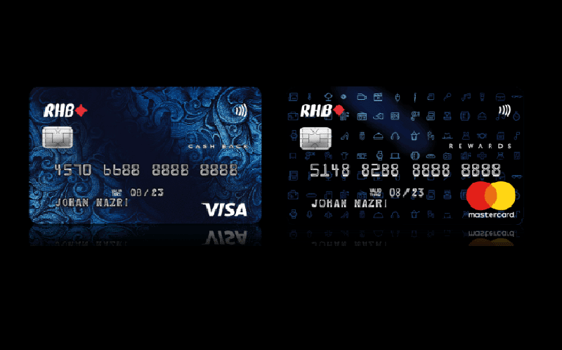 The New RHB Dual Credit Cards Offer Both Cashback And Rewards