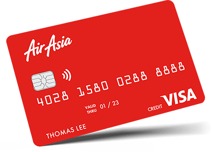 AirAsia Now Has Its Own Credit Card