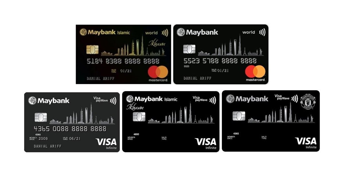 Maybank World Mastercard and Visa Infinite Revisions: Higher Fee Waiver Spend And Other Changes