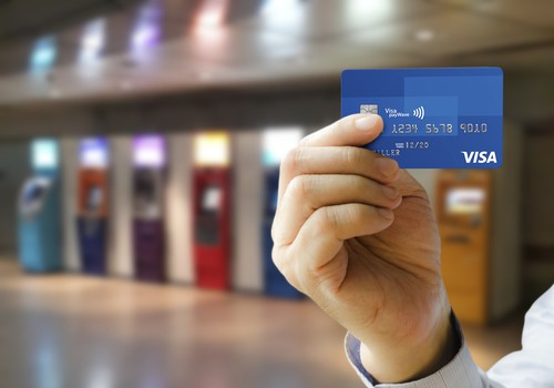 Contactless payment debit cards allow users to pay for goods costing £20 or  less by touching the card on a Pin reader