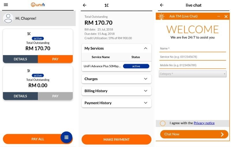 Unifi Customers Can Now Manage Their Accounts With Unifi's Latest