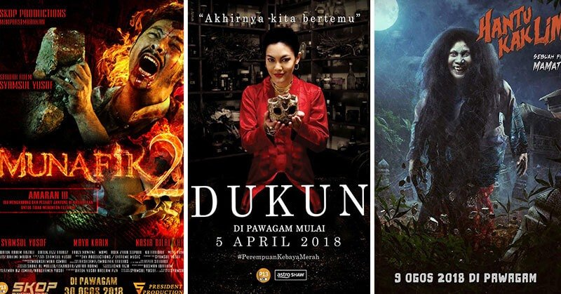 2019 Movies Horror Poster: The Malaysian Love Affair With Horror Movies