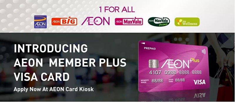 AEON Group Launches Member Plus Visa Card And AEON Wallet