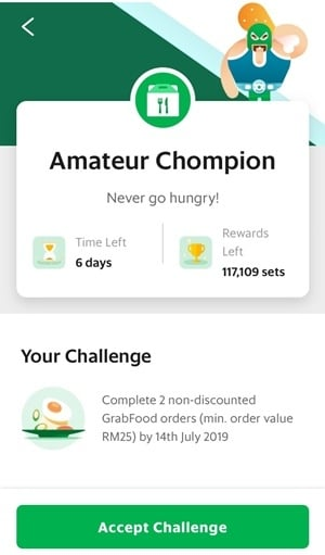 Grab Challenges Now Live In Malaysia