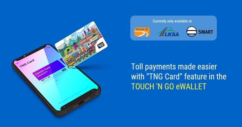 Users Can Now Pay For Tolls Using Balance In Touch 'n Go eWallet At More Locations