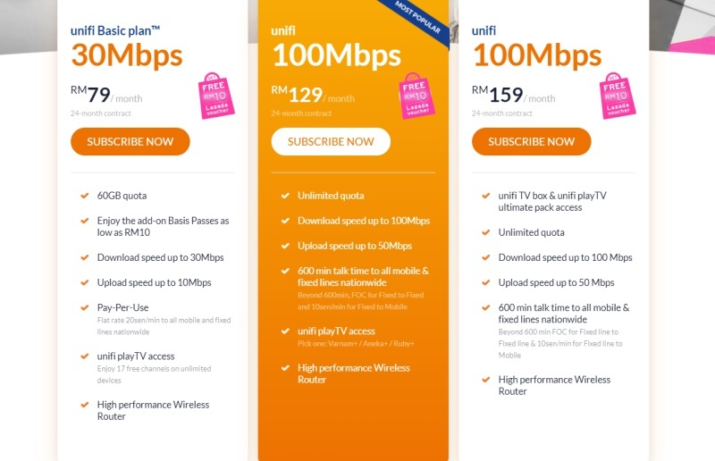 TM Offers Limited-Time Unifi Home 100Mbps Package With Unifi TV For