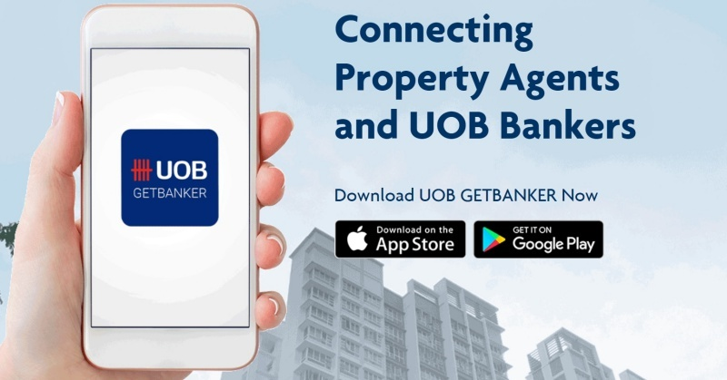 UOB GetBanker App Matches Property Buyers With UOB Mortgage Specialists