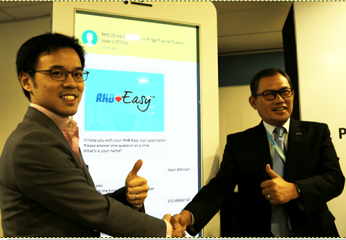 RinggitPlus x RHB presents Chatbot : Malaysia's first personal loan AI
