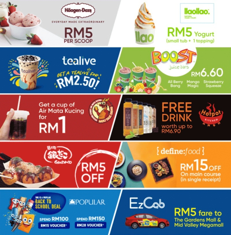 Get Rewarded When You Shop With Touch N Go E Wallet At Mid Valley