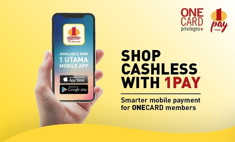You Can Now Go Cashless At 1 Utama With 1Pay E-Wallet