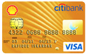 Shell Citibank Gold Credit Cards