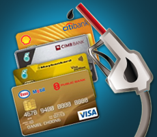 Malaysia's Best Petrol Station Branded Cash Back Credit Cards