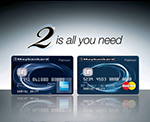 Maybankard 2 Platinum and Gold Cards