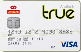 AmBank True card