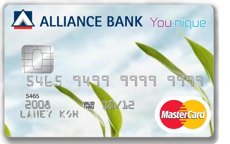 Alliance You:nique Credit Card