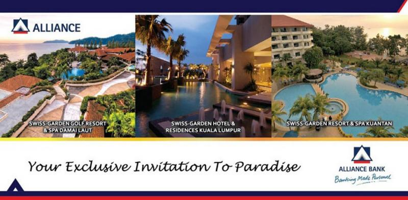 Free Paradise Getaway with Alliance Credit Cards