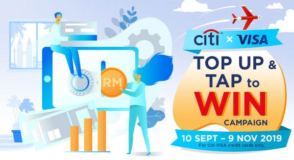 Citibank's Latest Campaign Rewards Customers For E-Wallet Reloads And Contactless Payments