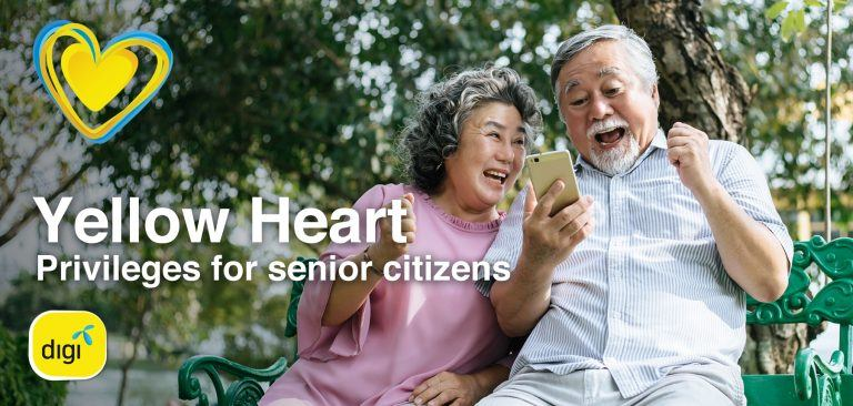 Digi Offers Senior Citizens RM10 Rebate For Postpaid Plans, Every Month For Life