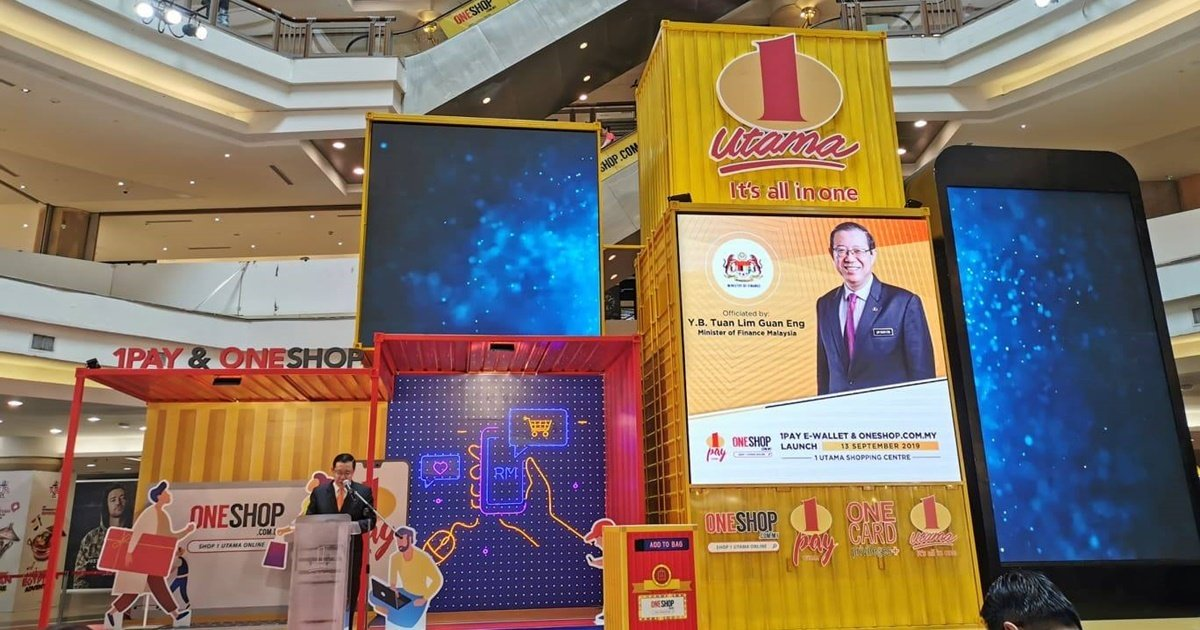 1 Utama Officially Launches 1PAY E-Wallet And ONESHOP Online Store