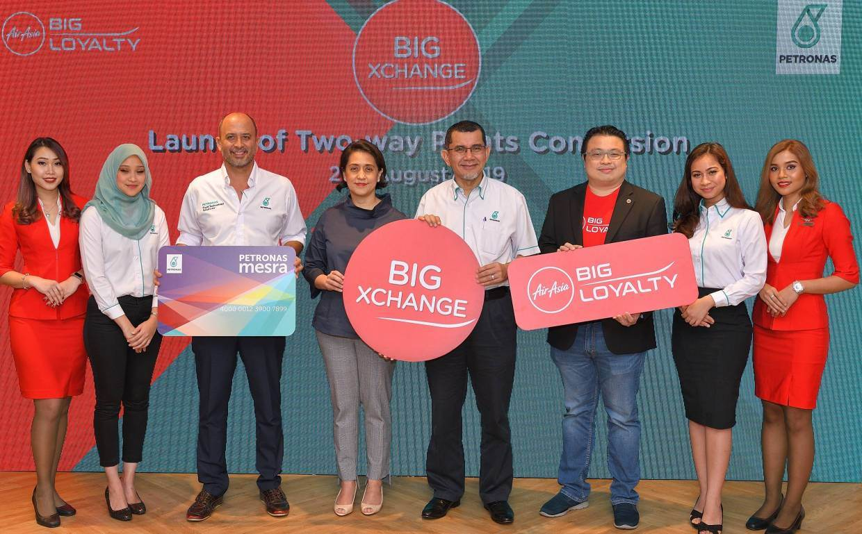AirAsia BIG Partners With Petronas Mesra To Allow Two-Way Points Conversion