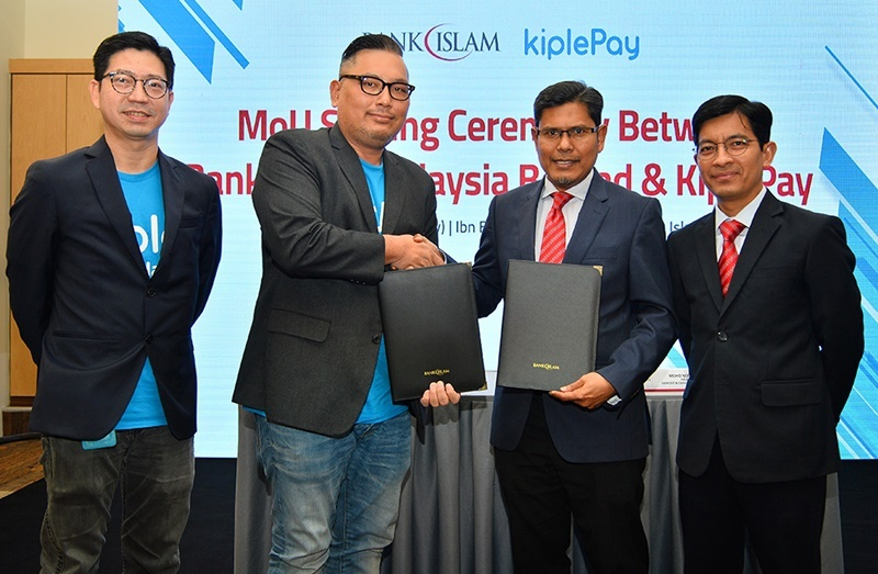 KiplePay And Bank Islam Collaborate To Provide E-Payment Services