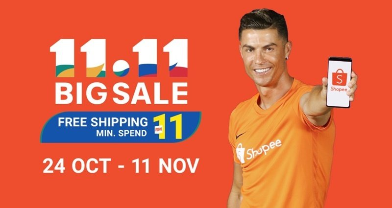 Shopee's 11.11 Sales Is Back Once Again, Offering Customers Bigger And Better Deals
