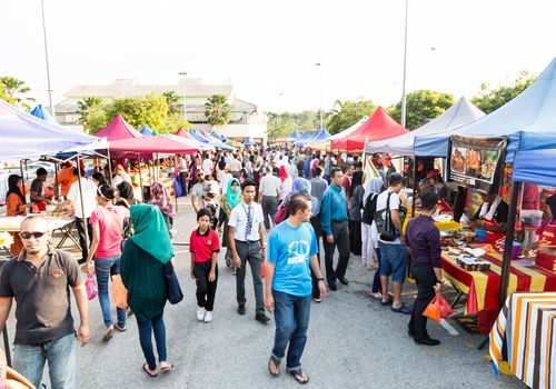 Tips to Avoid Wasting Food at Ramadhan Bazaars