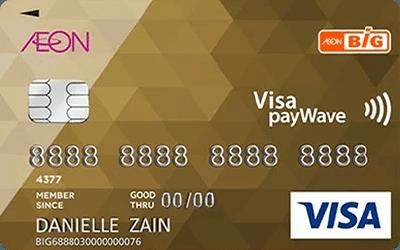 RinggitPlus AEON BiG Visa Gold