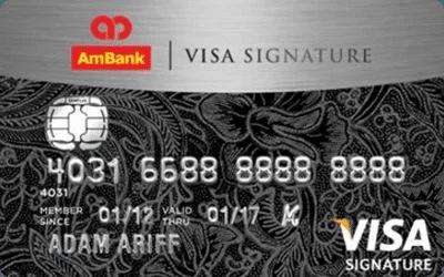 RinggitPlus AmBank Visa Siganture