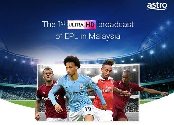 Astro To Provide Ultra HD Channels, Starting With EPL Matches