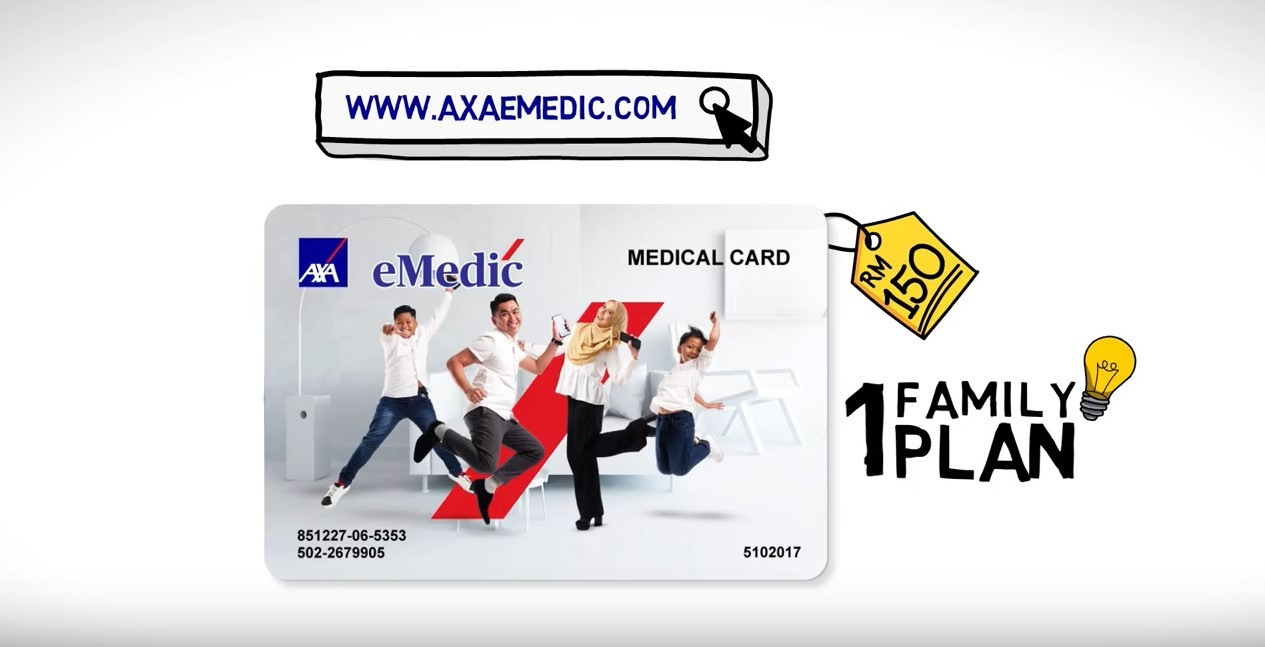 AXA AFFIN Introduces AXA eMedic Plan For Families